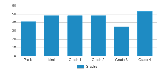 This chart display the students of Webster Elementary School by grade.
